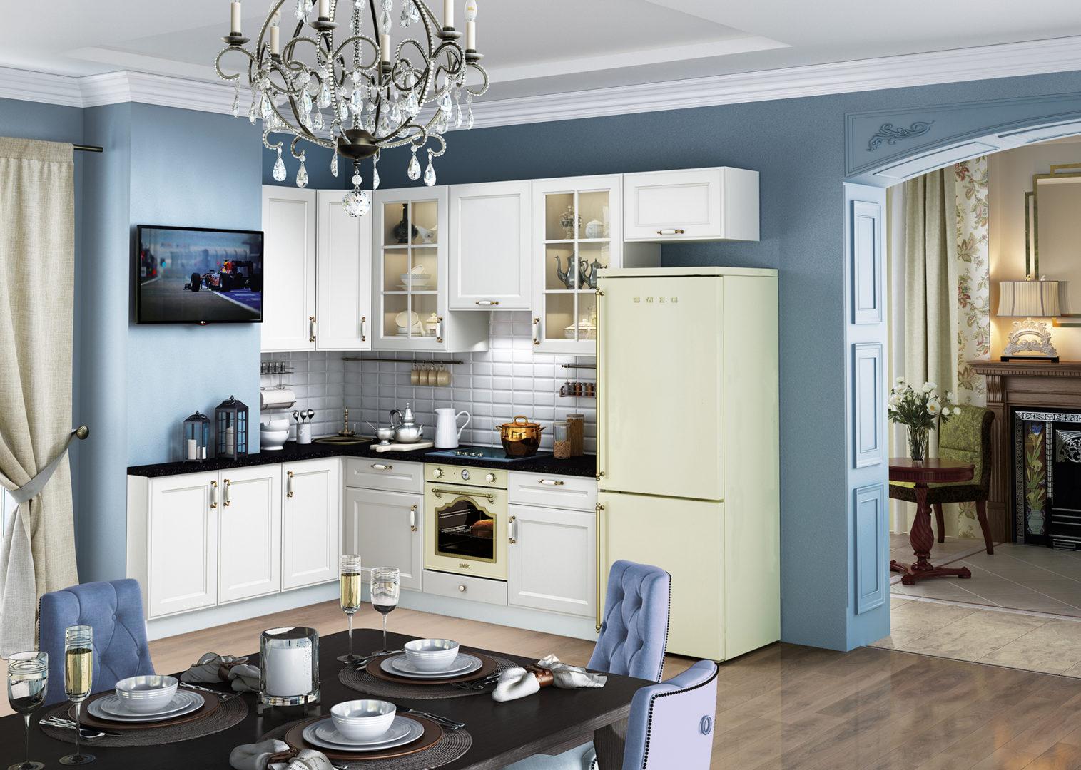 Кухня Милан Бьянко - 2