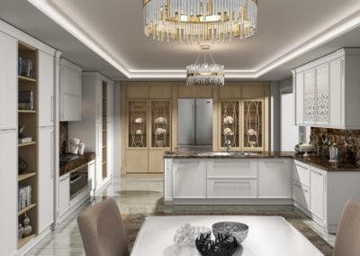 Кухня Венето Бьянко фото 1