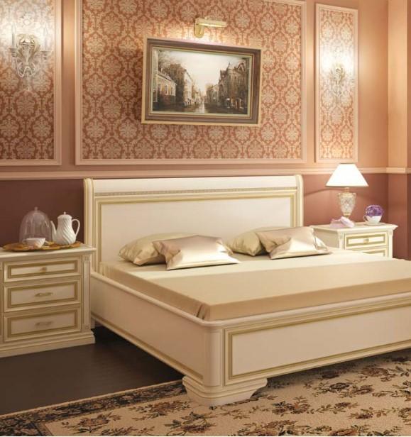 Кровать спальни Нике Аворио