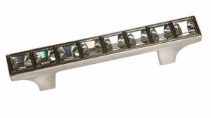 Ручка BM-SN064 int-64 никель+кристаллы Сваровски