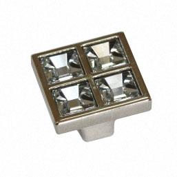 Ручка BM-SN027 никель+кристаллы Сваровски