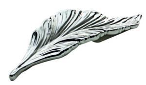 BM-PS032R Ручка-скоба Дафна 32мм правая, серебро