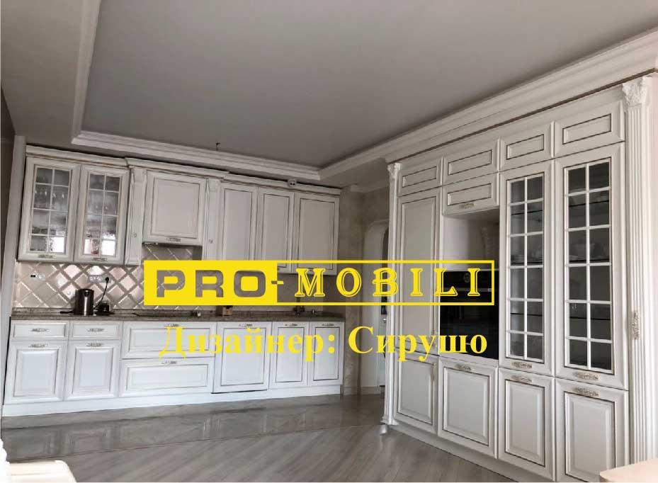 белая кухня Про Мобили